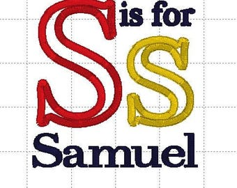 Sample Sale - Initial with name