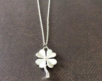 4 Leaf Clover Necklace - Four Leaf Clover Necklace - Four Leaf Clover Pendant - 4 Leaf Clover - Four Leaf Clover - 4H Jewelry - Necklace