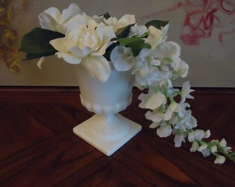 Vintage EO Brody Co Milk Glass Vase
