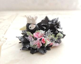 Black Swan Wee Miniature Figurine