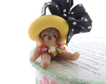 Wee Ones Little Bear Miniature Figurine
