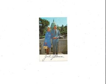 1975 Vintage Political Calendar Card from US Congressman John J. Duncan from Tennessee, Wallet Size, Vintage Political Ephemera, M/M Duncan