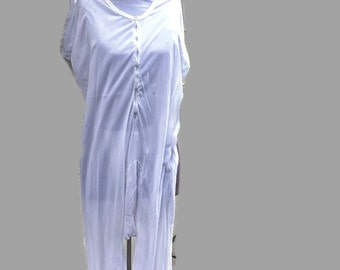 1950's Onesie / Morman Temple Garment / magic underwear / LDS garment / rayon blend/ longunderwear / modest undergarment / size 42 L / sissy h7MzHS