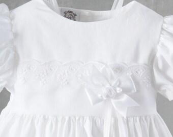 Daisy Baptism Dress, Christening Dress or Blessing Dress for Baby Girls