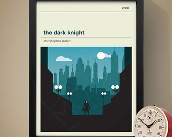 The Dark Knight Movie Poster - Movie Poster, Movie Print, Film Poster, Film Poster