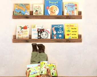 Bookshelf for Children's Books - Single Shelf - Display Shelf - Kid's Bookshelf