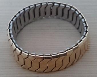Vintage rolled gold excalibur bracelet