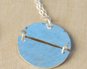 Mended Moon Necklace (M)