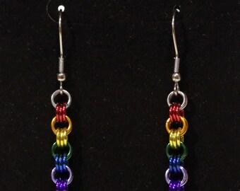 Pride Collection - Rainbow Pride Triplet Earrings