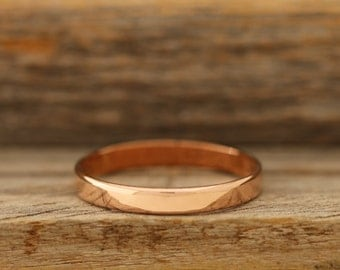 3mm High Shine Copper Band