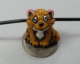 Adorable Ceramic Kitty Bead