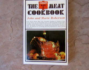 Meat Cookbook, The Cudahy Bar S Meat Cookbook, 1966 Vintage Cookbook