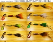Double 8 Flatulator Model / Choice Snagless Bucktail