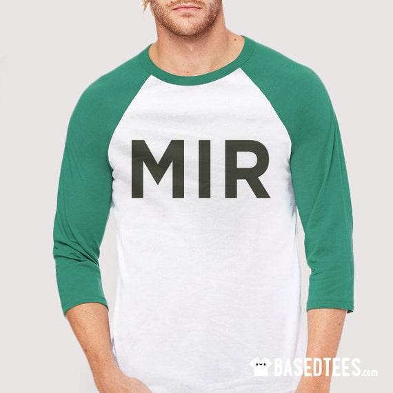 Android 17  MIR Baseball T-Shirt