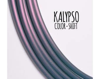 11/16 Kalypso Color Morph Polypro ~ Colored 11/16 Goldilocks, Color Shifting Polypro Hoops, Purple/Blue Color Morph Hoops, Fast Shipping