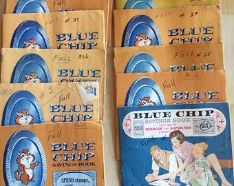 Blue Chip Stamp Savings Books
