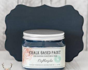 Vintage Storehouse Chalk Based Paint - Nightingale