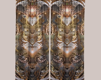 Natural Affinity (1 Panel) // Psychedelic Men and Womens Festival Clothing, Accessories & Decor by Samuel Farrand