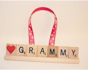 Grammy Gift, Grammy Ornament, Grammy Gift, Mom Gift, Valentines Ornament, Nana Gift, Custom Ornament, Grandma Gift, Birthday Gift, Easter,