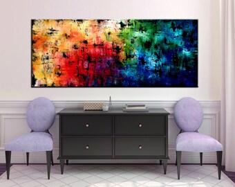 "72"" XXL  ORIGINAL Large abstract art,  Modern Abstract Palette Knife Modern Art Painting"