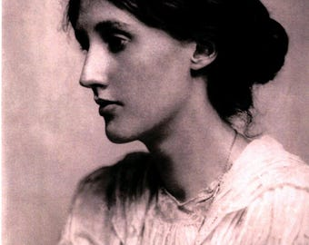 Virginia Woolf (1882-1941), Author, Greeting Card NCC093887