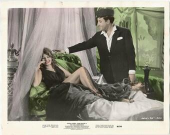 "1960s ORIGINAL 20th Century Fox Gelatin Silver Archival Press Photo / Sophia Loren and Peter Sellers in ""The Millionairess"" Movie (1960)"
