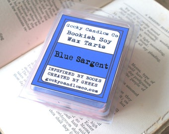 Blue Sargent Scented Soy Wax Tart. ,  Soy Candles UK, Wax Tarts, Soy Melts, Scented Tarts, Soy Tarts,Tarts, Wax Melts
