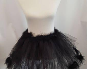 Adult Black Swan Tutu, Black Bird Tutu, Black Swan Costume, Black Bird Costume, Black Swan Ballet, Photo Prop Tutu, Halloween Costume, Tutu