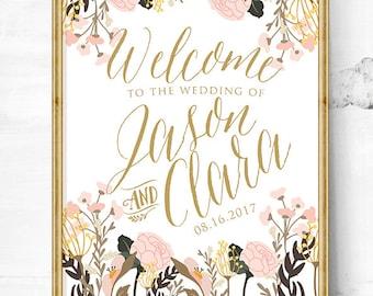 rustic wedding - wedding entrance sign - wedding decor - wedding signs - wedding sign - wedding welcome sign - wedding - wedding gifts