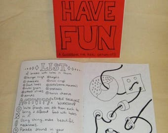 Zine: How to have fun - Issue 1