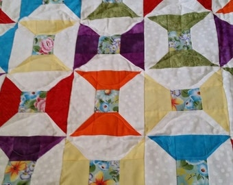 bow ties are cool lap quilt