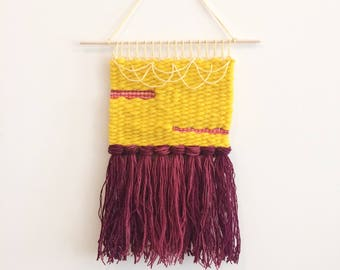 Sunshine Weaving Woven Wall Hanging