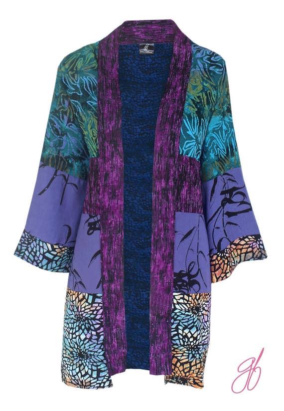 Boho Kimono Robe Plus Size Cardigan Boho Cardigan Kimono