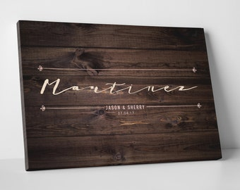 Wedding Guest Book Wedding Guestbook Custom Guest Book Personalized guest book canvas rustic guest book wedding gift - 2