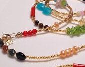 Gold Grown and Sexy Gemstone, Waist Beads, body beads, and swim wear, jewelry, body chain, Boho Jewelry zmw1950