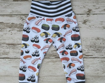 Sushi Roll Baby Leggings