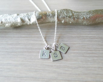 Custom Initial Charm - Add on to Necklace or Bracelet Purchase from my Shop -  Cannot be Purchased Alone