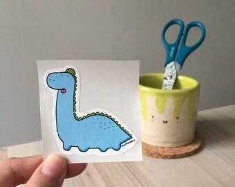 Derpy Brontosaurus Sticker