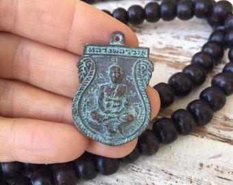Thai Buddha Amulet Pendant / Buddha Amulet / Amulet Pendant / Buddha Charm / Thai Amulet / Thai Buddha / Amulet / Buddhist Amulet