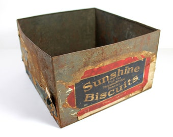 Sunshine Biscuits Loose Wiles Biscuit Co Tin
