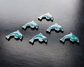 Dolphin Floating Charm for Floating Lockets-1-Piece-Gift Ideas