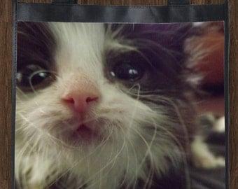 Trooper Kitten Reusable Shopping Tote