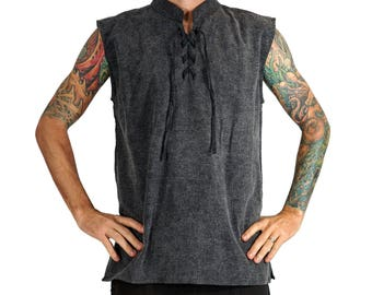Mens Shirts - Sleeveless
