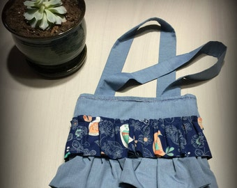 Bird ruffle bag (Free gift included!)