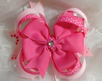 Boutique Hair Bow, Solid Colors