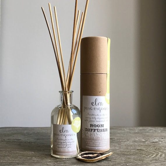 Dakota Meadow. All Natural Organic Diffuser. Only Organic Essential Oils, Geranium Rose, Lavender and Sage. Eco friendly