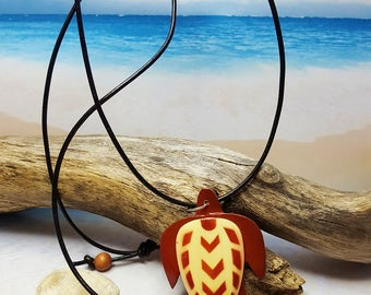 Sea Turtle Necklace ~ 5th Anniversary Gift For Girlfriend with Global Impact ~ Now Trending ~ Beach Jewelry Ideas ~ College Student Gift