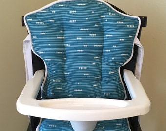 Organic Teal Abacus Eddie Bauer High Chair Replacement Cover