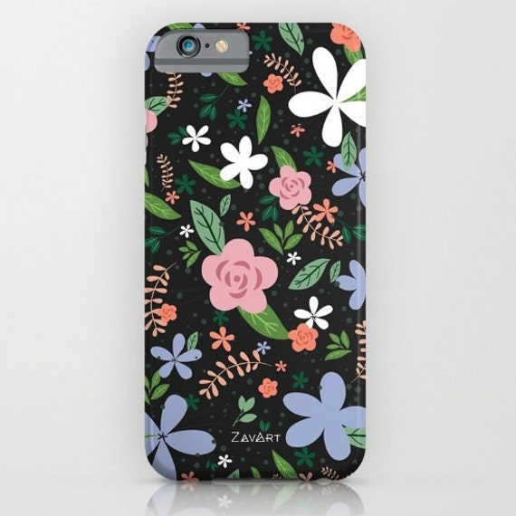 FLOWERS PHONE CASE • Iphone 7 • Iphone 6/6S • Iphone 5/5S/Se
