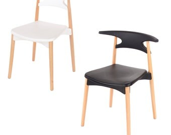 Basilio Dining Chair Modern Contemporary School Style Designer Chair DSW DAW Inspired Chair Eames Modern Chair (SINGLE)